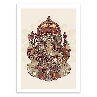 Art-Poster - Ganesha - Valentina Harper 50 x 70 cm