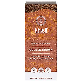 Khadi Hair Colour - Golden Brown NEW 100g