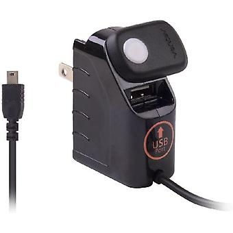 Ventev EcoCHARGE Mini USB Travel charger w/ Port for GARMIN-ASUS Garminfone