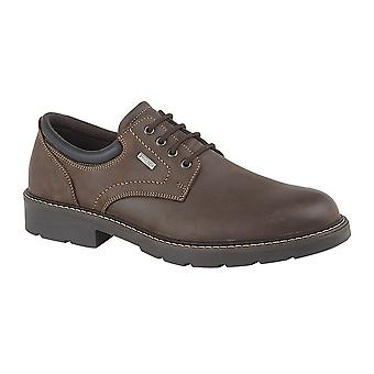 Chaussure de loisirs IMAC Mens Leather 4 Eye Laced