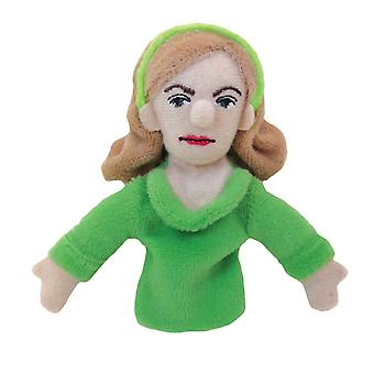 Finger Puppet - UPG - Sylvia Plath Soft Doll - Licenseret - 3554
