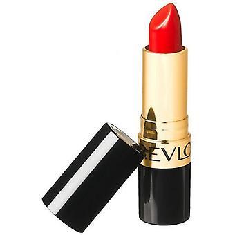 2 x Revlon super glanzend Creme Lipstick 4.2 g-740 zeker rood