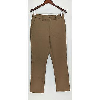 G.I.L.I. got it love it Women's Pants Ponte Trouser Khaki Beige A293336