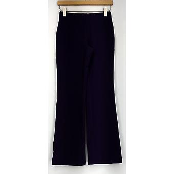 Slimming Options for Kate & Mallory Ponte Bootcut Leggings Purple A411955