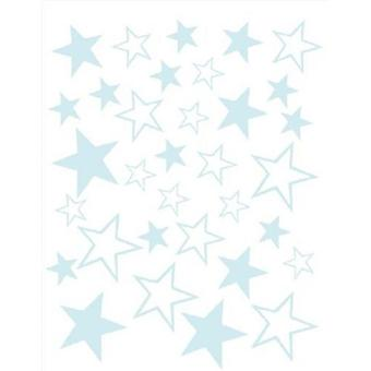 AraTextil Lila Stars Wall Stickers (Babies and Children , Toys , Others)