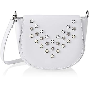 Chicca Bags 1533 White Women's shoulder bag 20x17x7 cm (W x H x L)