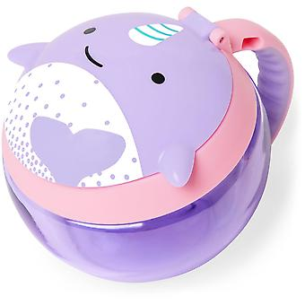 Salta Hop zoo Snack Cup - Narwhal