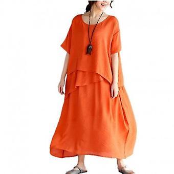 فستان طويل كبير