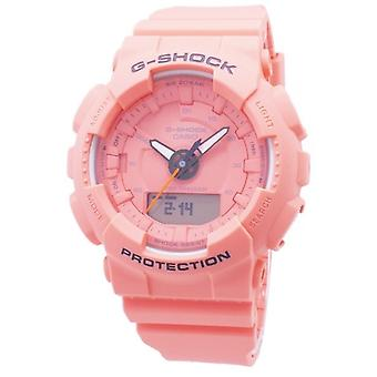 Casio G-shock S Serie Gma-s130vc-4a Gmas130vc-4a Step Tracker Analog Digital 200m Damen's Uhr