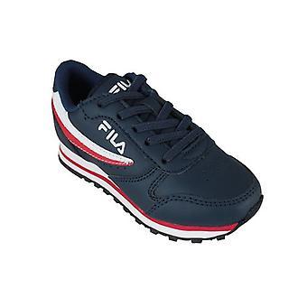 Row casual rad skor omloppsbana låg Barnklänning blå 0000157138_0