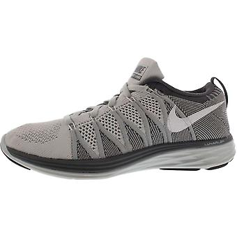 Nike Womens Flyknit Lunar2 Low Top Lace Up Walking Shoes