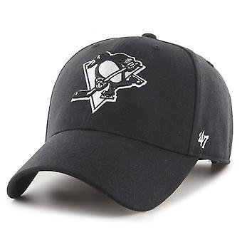 47ブランドスナップバックキャップ - MVPピッツバーグペンギンズブラック