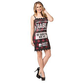 Women Taco Bell Diablo Costume