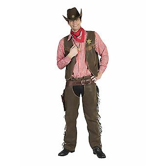Cowboy Cowherd mäns kostym Sheriff mäns kostym