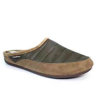 Goodyear logica gewatteerde mule slipper
