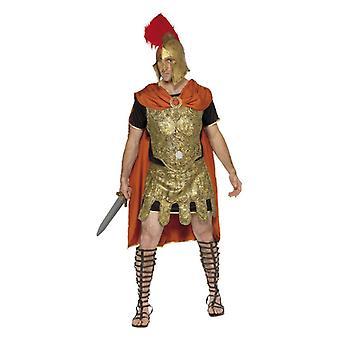 Soldado romano Mens túnica vestido extravagante, traje