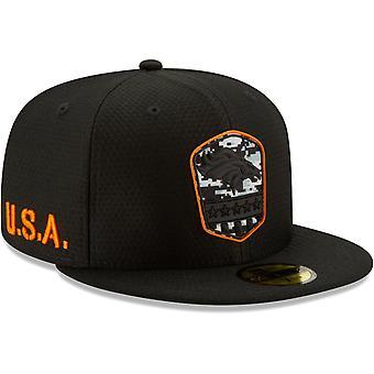 New era 59Fifty Cap - salute to service Denver Broncos