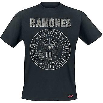 Ramones Seal Hey Ho camiseta