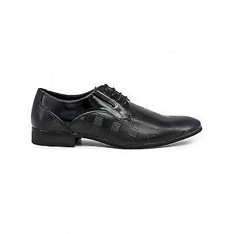 Duca di Morrone - Chaussures - Chaussures lacets - CLARK-BLACK - Hommes - Schwartz - 45
