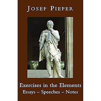 Exercises in the Elements: Essays, Speeches, Notes