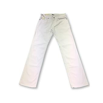 Peter Millar soft touch stretch cotton jeans in white