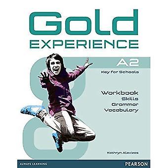Experiência de ouro A2 linguagem e habilidades pasta de trabalho (experiência de ouro)