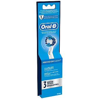 Oral-b professional care precision clean toothbrush heads, 3 ea
