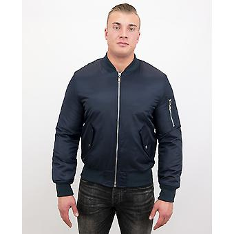 BomberJack - Bomber Jacket Basic - Blue