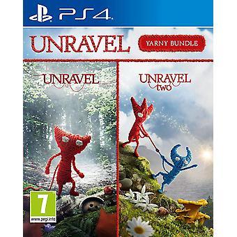 Unravel Yarny Bundle Unravel 1 & 2 PS4 Game