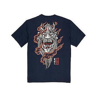 Element Demon Keeper Short Sleeve T-Shirt en Indigo