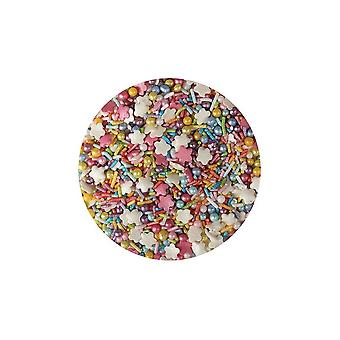 Paarse cupcakes Rainbow mix-100g