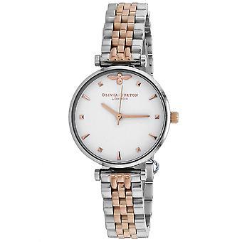 Olivia Burton Women's White Dial Watch - OB16AM93