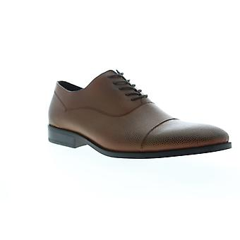 Unlisted by Kenneth Cole Half Time Mens Brown Dress Lace Up Oxfords Shoes