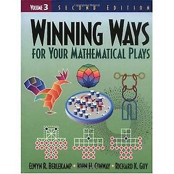 Winning Ways for Your Mathematical Plays Volume 3 door Elwyn R. BerlekampJohn H. ConwayRichard K. Guy