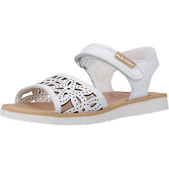Pablosky Sandals 075500 White Color