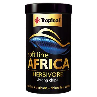 Tropical 67574 Soft Line Africa Herbivoros 250 ml (Fish , Food , Warm Water)