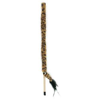 Freedog kijem węża ciemny 94 cm (kij 42) (koty, zabawki, różdżki Teaser)