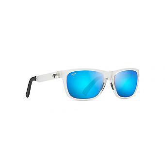 Maui Jim South Swell B755 05CM Frosted Crystal/Blue Hawaii Sunglasses