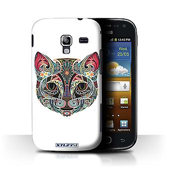 STUFF4 Case/Cover for Samsung Galaxy Ace 2/I8160/Cat/Ornamental Animals