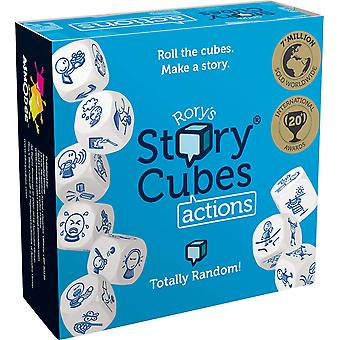 Asmodee The Creativity Hub Rory's Story Cubes Actions