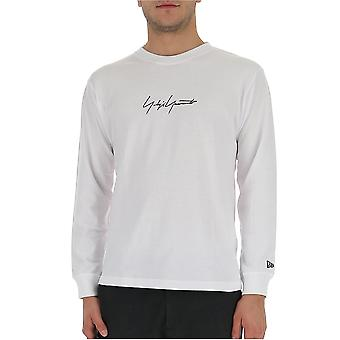 Yohji Yamamoto Hct970771 Men's White Cotton Sweater