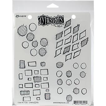"""Dyan Reaveley's Dylusions Cling Stamp Collections 8.5""""X7"""" - Vier von vier"""
