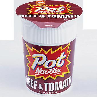 Pot Noodle Beef and Tomato Flavour