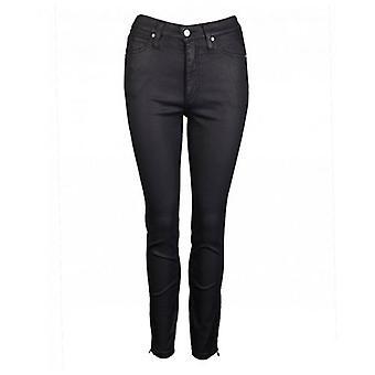 Calvin Klein Womenswear Hi Rise Coated Skinny Jeans