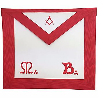 Masonic master mason mb apron square compass