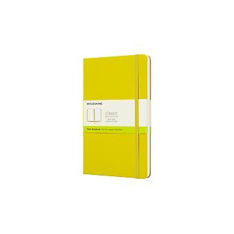 Moleskine notebook large - hard cover-  yellow