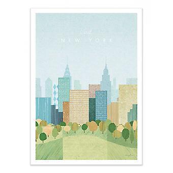 Art-Poster - Besök New York Version 2 - Henry Rivers