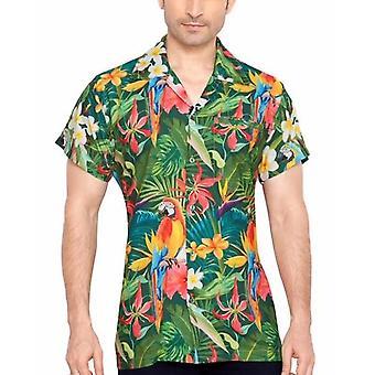 Club cubana men's regular fit classic short sleeve casual shirt ccd22