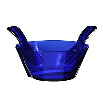 Mario Luca Giusti Fulmine Blue Plastic Salad Bowl with Serving
