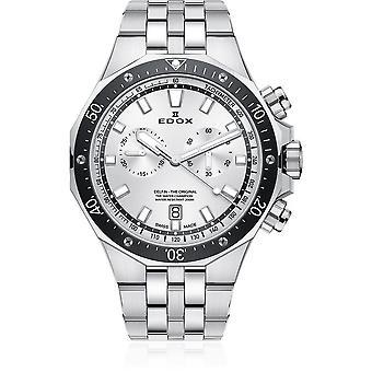 Edox - Armbanduhr - Herren - Delfin - Chronograph - 10109 3M AIN